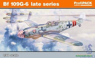 Bf 109G-6 late series (ProfiPACK Edition) 1/48 [Eduard]