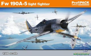 Fw 190A-5 light fighter (ProfiPACK Edition) 1/48 [Eduard]