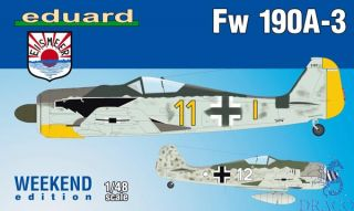 Fw 190A-3 (Weekend Edition) 1/48 [Eduard]