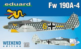 Fw 190A-4 (Weekend Edition) 1/48 [Eduard]