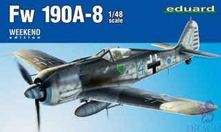 Fw 190A-8 (Weekend Edition) 1/48 [Eduard]