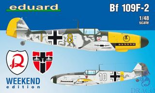 Bf 109F-2 (Weekend Edition) 1/48 [Eduard]
