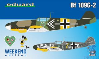 Bf 109G-2 (Weekend Edition) 1/48 [Eduard]