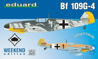 Bf 109G-4 (Weekend Edition) 1/48 [Eduard]