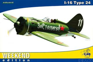 I-16 Type 24 (Weekend Edition) 1/48 [Eduard]