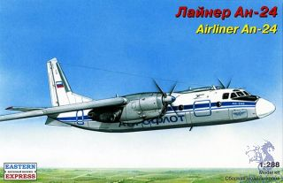 Airliner An-24 1/288 [Eastern Express]