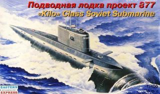 Kilo Class Soviet Submarine 1/400 [Eastern Express]