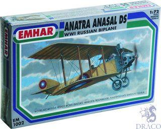 Anatra Anasal DS - WWI Russian Biplane 1/72 [Emhar]