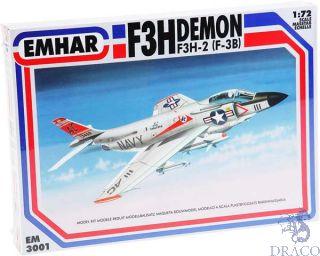 F3H-2 Demon (F-3B) 1/72 [Emhar]