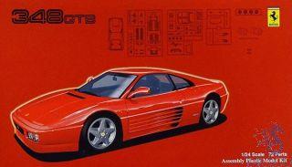 Ferrari 348 GTB 1:24 [Fujimi]