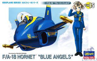"Egg Plane  F/A-18 Hornet ""Blue Angels"" [Hasegawa]"