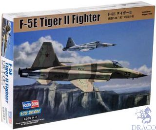 F-5E Tiger II Fighter 1/72 [Hobby Boss]