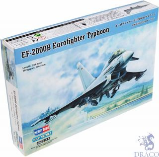 EF-2000B Eurofighter Typhoon 1/72 [Hobby Boss]