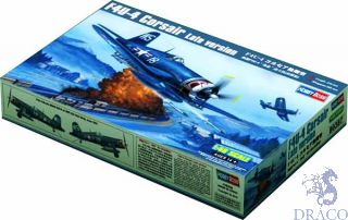 F4U-4 Corsair late version 1/48 [Hobby Boss]