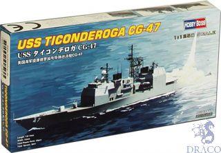 USS Ticonderoga CG-47 1/1250 [Hobby Boss]