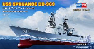 USS Spruance DD-963 1/1250 [Hobby Boss]