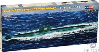 PLAN Type 033 submarine 1/700 [Hobby Boss]