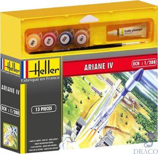 Ariane IV (Gift Set) 1/288 [Heller]