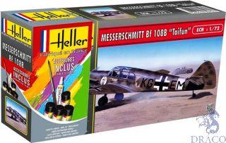 """Messerschmitt Bf 108 B """"Taifun"""" Starter Kit 1/72 [Heller]"""