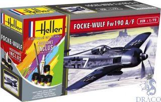 Focke Wulf Fw190 A/F Starter Kit 1/72 [Heller]