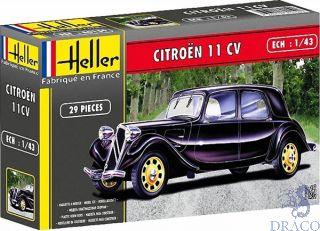 11 CV Citroën  1/43 [Heller]