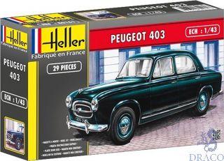 Peugeot 403 1/43 [Heller]