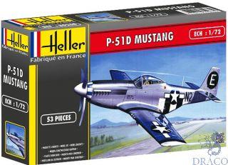 P-51D Mustang 1/72 [Heller]