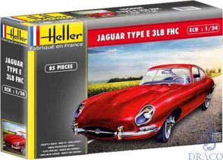 Jaguar Type E 3L8 FHC 1/24 [Heller]