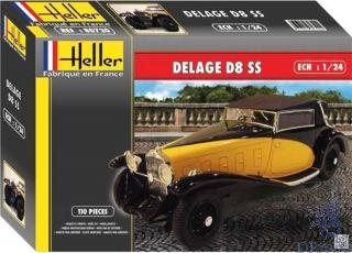 Delage D8 SS 1/24 [Heller]