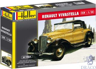 Renault Vivastella 1/24 [Heller]