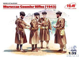 Moroccan Goumier Rifles (1943) 1/35 [ICM]