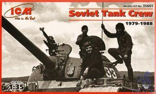 Soviet Tank Crew (1979-1988) 1/35 [ICM]