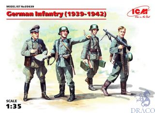 German Infantry (1939-1942) 1/35 [ICM]