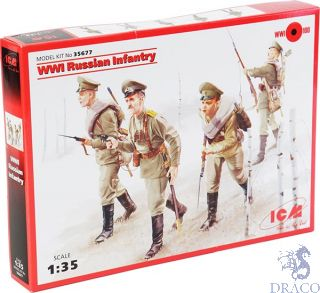 WWI Russian Infantry 1/35 [ICM]