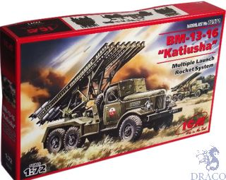 "BM-13-16 ""Katiusha"" Multiple Launch Rocket System 1/72 [ICM]"