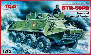 BTR-60PB Armored Personnel Carrier 1/72 [ICM]