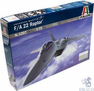 F/A-22 Raptor 1/72 [Italeri]