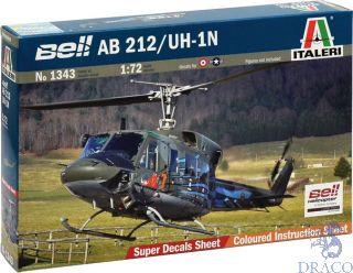 Bell AB 212/UH-1N 1/72 [Italeri]