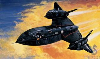 SR-71 Blackbird with Drone 1/72 [Italeri]