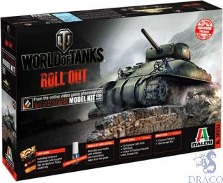 World of Tanks Roll Out M4 Sherman Limited Edition 1/35 [Italeri]