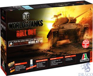 World of Tanks Roll Out M24 Chaffee Limited Edition 1/35 [Italeri]