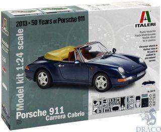 Porsche 911 Carrera Cabrio 1/24 [Italeri]