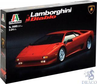 Lamborghini Diablo 1/24 [Italeri]
