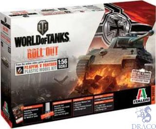 World of Tanks Roll Out - Pz. Kpfw. V Panther Limited Edition 1/56 [Italeri]