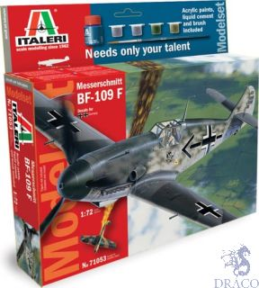 Messerschmitt BF-109 F Model Set 1/72 [Italeri]