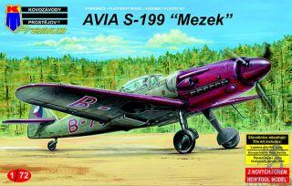 """AVIA S-199 """"Mezek"""" (Premium Kit) 1/72 [AZmodel]"""