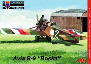 "Avia B-9 ""Boska"" 1/72 [AZmodel]"