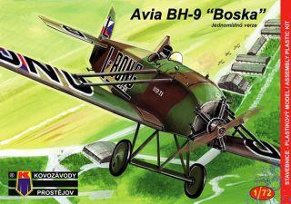"""Avia BH-9 """"Boska"""" Jednomístná verze 1/72 [AZmodel]"""