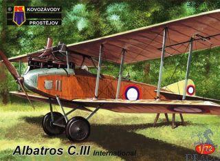 Albatros C.III International 1/72 [AZmodel]