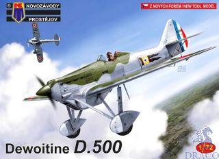 Dewoitine D.500 1/72 [AZmodel]